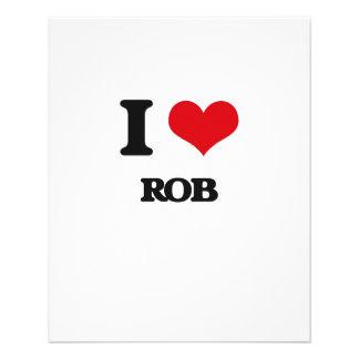Ik houd van Rob Persoonlijke Folder