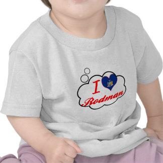 Ik houd van Rodman, New York T Shirt