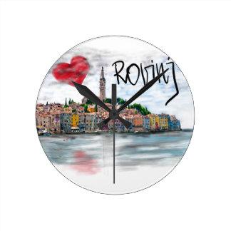 Ik houd van Rovinj Ronde Klok