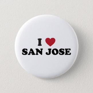 Ik houd van San Jose Ronde Button 5,7 Cm
