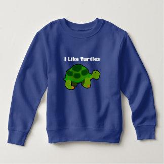 Ik houd van Schildpadden - het Sweatshirt  van de
