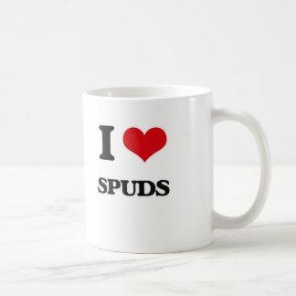 Ik houd van schoffel koffiemok