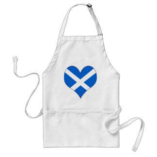 Ik houd van Schotland Standaard Schort