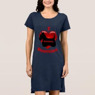 Ik houd van Schotse Terriers, Groot rood hart van Shirt