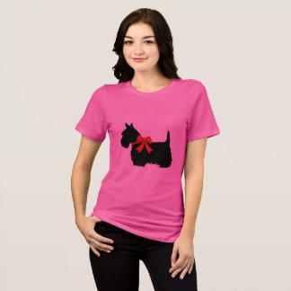 Ik houd van Schotse Terriers, Groot rood hart van T Shirt