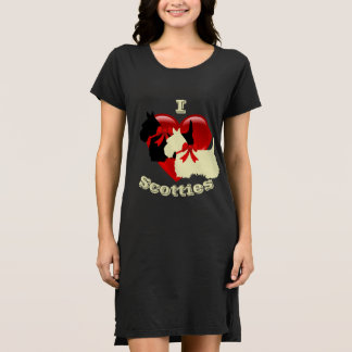 Ik houd van Schotse Terriers, Zwart & wheaten Shirt