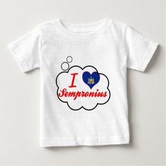 Ik houd van Sempronius, New York T-shirts