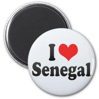 Ik houd van Senegal Magneet