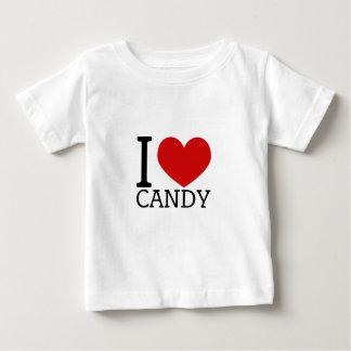 Ik houd van Snoep Baby T Shirts