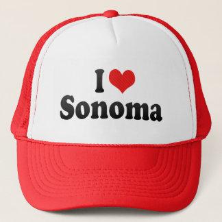 Ik houd van Sonoma Trucker Pet