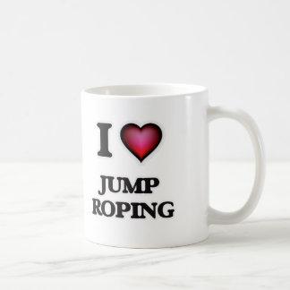 Ik houd van Sprong Roping Koffiemok