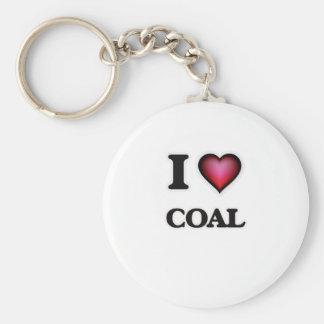 Ik houd van Steenkool Sleutelhanger