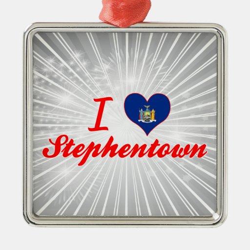 Ik houd van Stephentown, New York Ornament