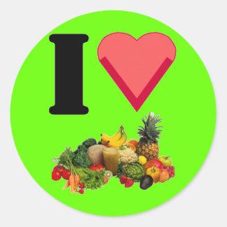Ik houd van Sticker Veggies