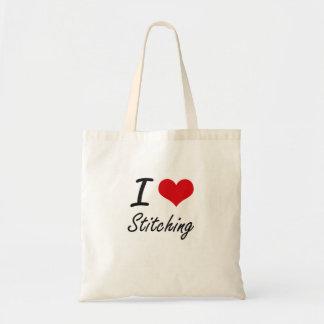 Ik houd van stikkend tassen