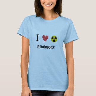 Ik houd van straling t shirt