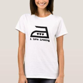 Ik houd van strijkend (3 Harten) T Shirt