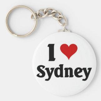 Ik houd van Sydney Sleutelhanger
