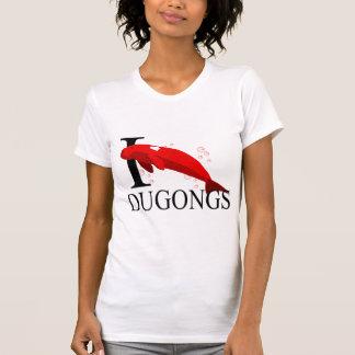 Ik houd van T-shirts Dugongs