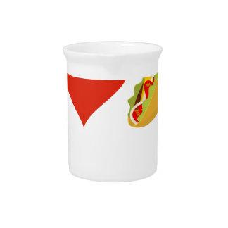 Ik houd van Taco's voor de Minnaars van de Taco Drank Pitcher