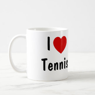 Ik houd van Tennis Koffiemok