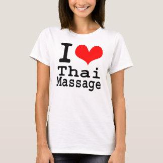 Ik houd van Thaise Massage T Shirt