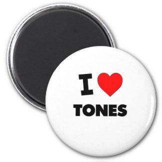 Ik houd van Tonen Koelkast Magneet