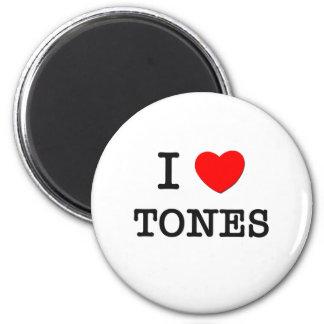 Ik houd van Tonen Ronde Magneet 5,7 Cm