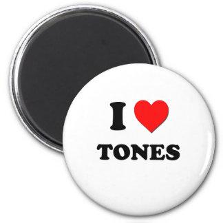 Ik houd van Tonen Koelkast Magneetjes