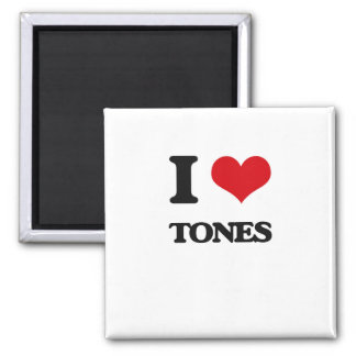 Ik houd van Tonen Vierkante Magneet