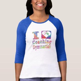 Ik houd van trainend de Overhemden van de Vrouwen T Shirt
