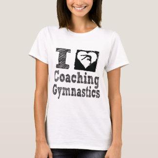 Ik houd van trainend Gymnastiek T Shirt