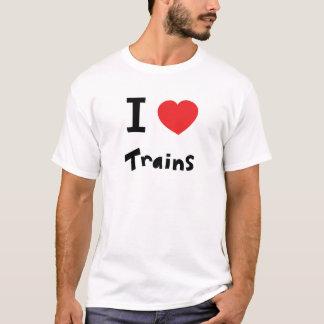 Ik houd van treinen t shirt