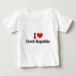 Ik houd van Tsjechische Republiek Baby T Shirts