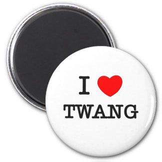 Ik houd van Twang Ronde Magneet 5,7 Cm