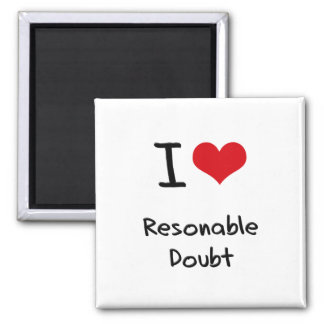 Ik houd van Twijfel Resonable Magneten