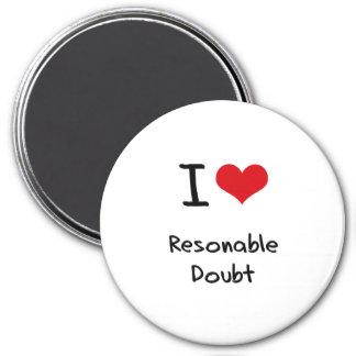 Ik houd van Twijfel Resonable Magneet