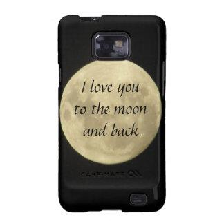Ik houd van u aan de maan en het achterhoesje Sams