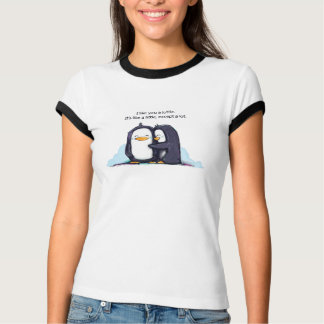 Ik houd van u een Pinguïn Lottle - het Overhemd T Shirt