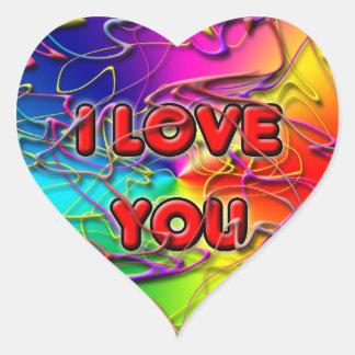 Ik houd van u Sticker