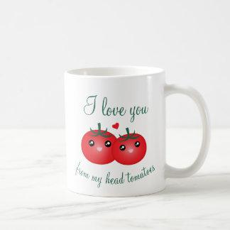 Ik houd van u van Mijn HoofdWoordspeling van het Koffiemok