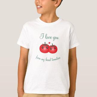 Ik houd van u van Mijn HoofdWoordspeling van het T Shirt