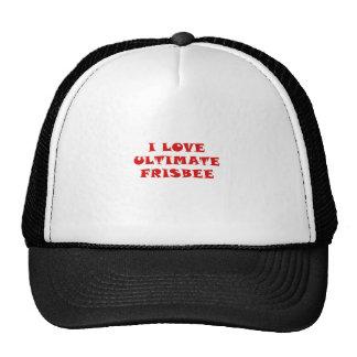 Ik houd van Uiteindelijke Frisbee Trucker Cap
