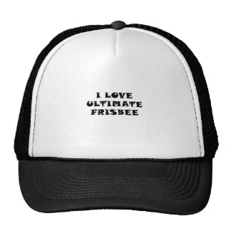 Ik houd van Uiteindelijke Frisbee Trucker Petten