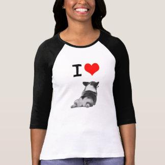 Ik houd van Uiteinden Corgi T Shirt