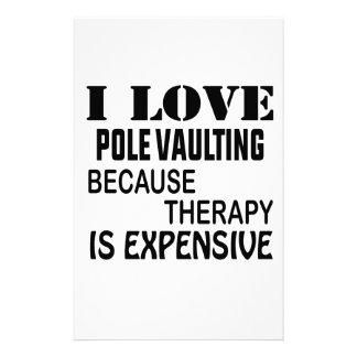 Ik houd van Vaulting van Pool omdat de Therapie Briefpapier