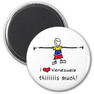 Ik houd van VENEZUELA Magneet