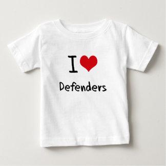 Ik houd van Verdedigers Baby T Shirts