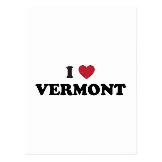 Ik houd van Vermont Briefkaart