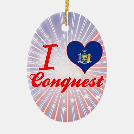 Ik houd van Verovering, New York Ornament